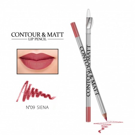 KREDKA DO UST CONTOUR & MATT-09 SIENA