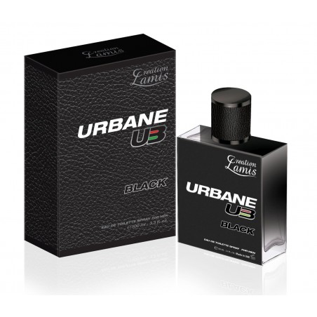 URBANE BLACK MEN 100 ml. LAMIS