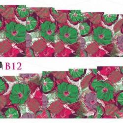 NAKLEJKI WODNE - B12