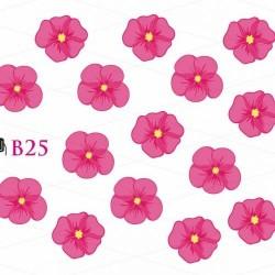 NAKLEJKI WODNE - B25