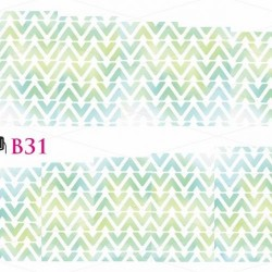 NAKLEJKI WODNE - B31