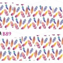 NAKLEJKI WODNE - B89