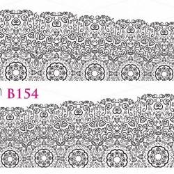 NAKLEJKI WODNE - B154