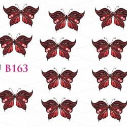 NAKLEJKI WODNE - B163