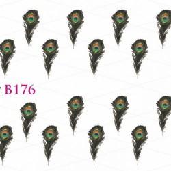 NAKLEJKI WODNE - B176