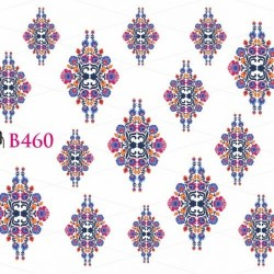 NAKLEJKI WODNE - B460