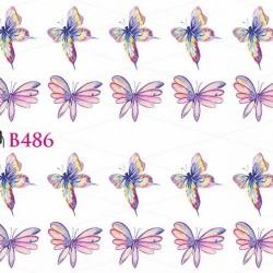 NAKLEJKI WODNE - B486