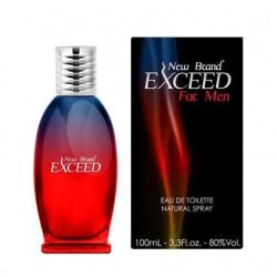 EXCEED MEN 100 ml. NEW BRAND